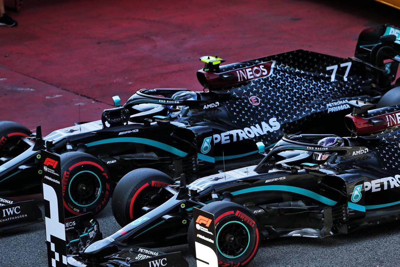 2020年 F1スペインGP 決勝:暫定スターティンググリッド