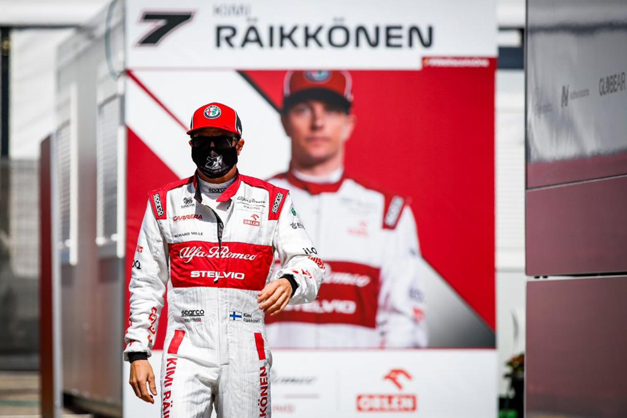 キミ・ライコネン、今季初のQ2進出 「タイヤが残っていればQ3も狙えた」 / アルファロメオ F1スペインGP 予選