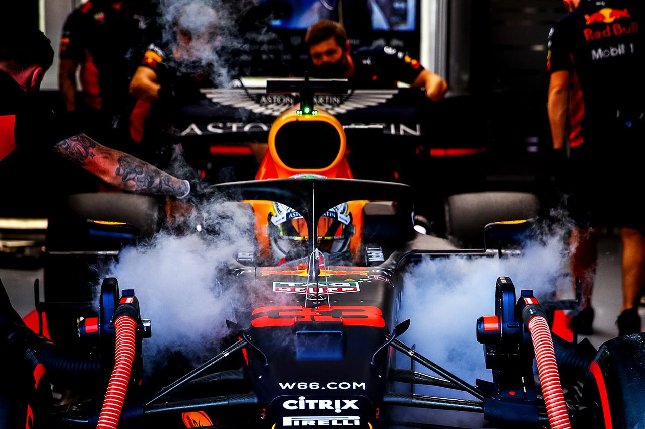 レッドブルF1代表 「優勝の勢いを生かしてメルセデスと良い戦いをしたい」 / F1スペインGP 予選