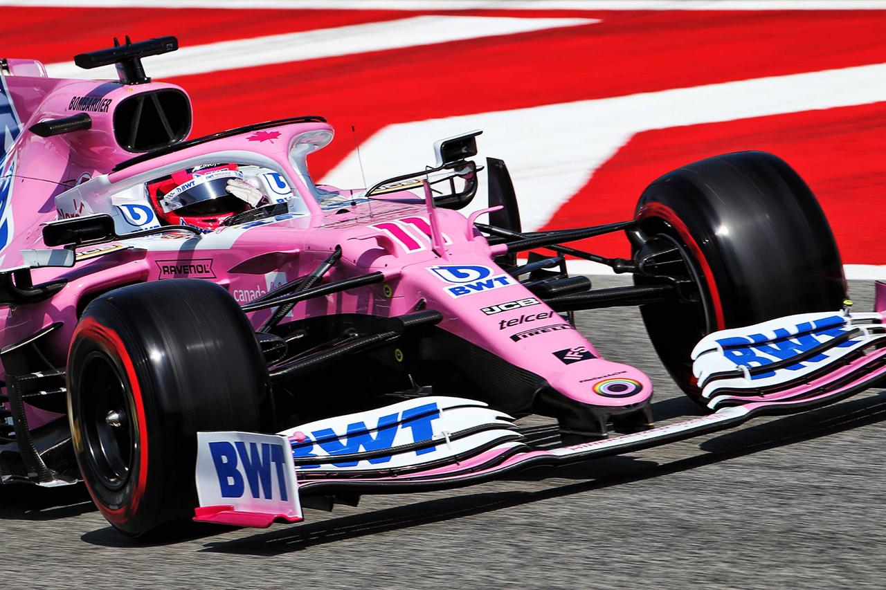 セルジオ・ペレス 「スタートでフェルスタッペンを仕留めたい」 / レーシング・ポイント F1スペインGP