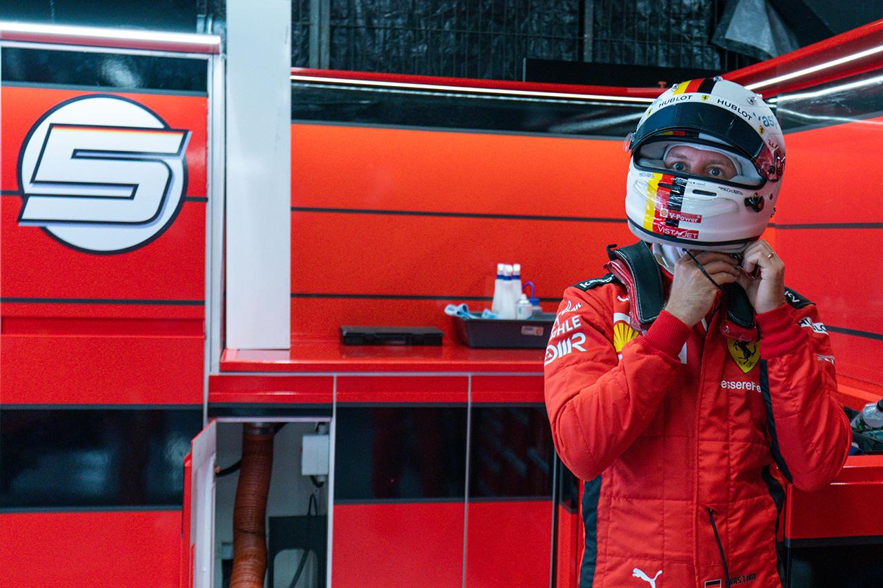 セバスチャン・ベッテル 「SF1000にはまだ答えが出せていない部分がある」 / フェラーリ F1スペインGP 予選