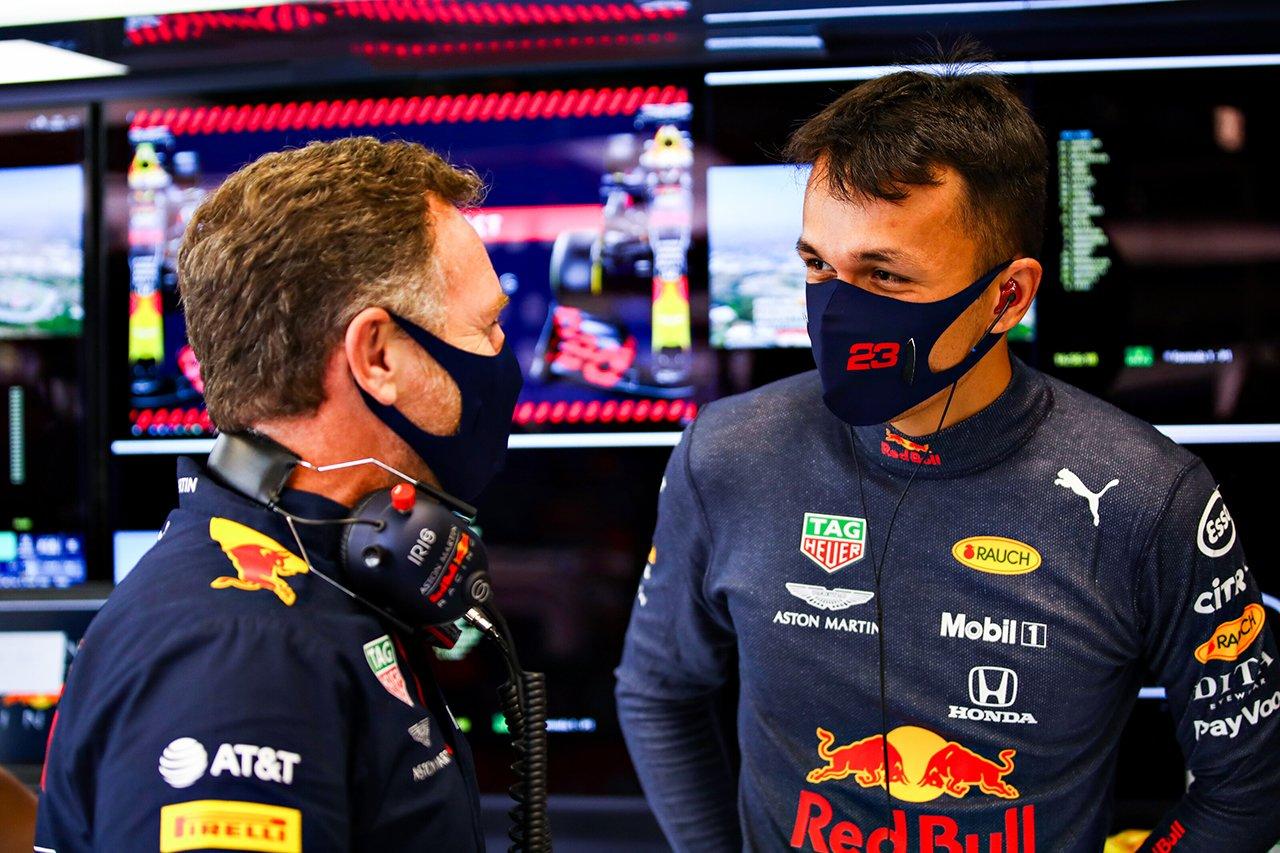 アレクサンダー・アルボン 「タイヤは6~7周でグリップを失った」 / レッドブル・ホンダ F1スペインGP 決勝