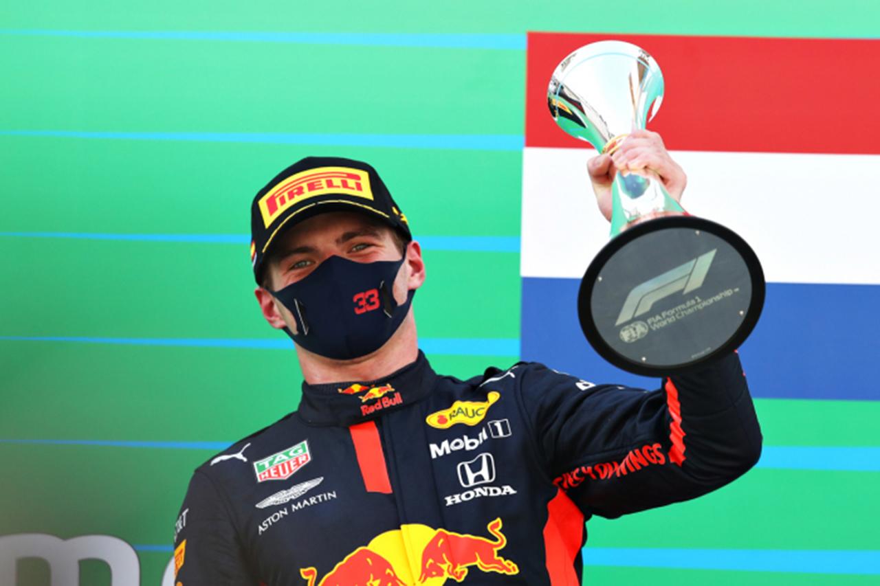 マックス・フェルスタッペン 「ハミルトンと戦えるスピードはなかった」 / レッドブル・ホンダ F1スペインGP 決勝後のコメント