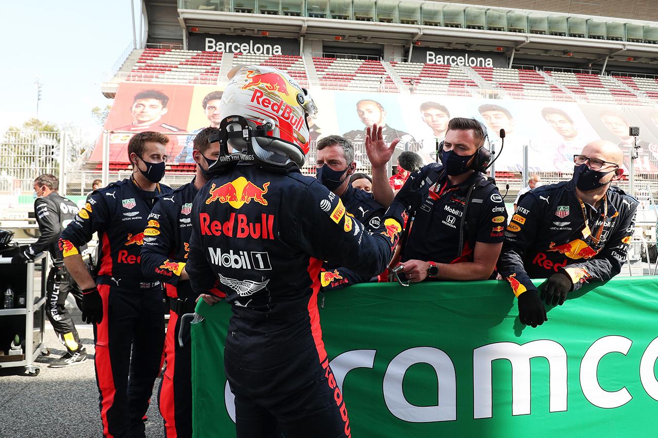 レッドブル・ホンダF1代表 「2位表彰台は我々が望める最高の結果」 / F1スペインGP 決勝