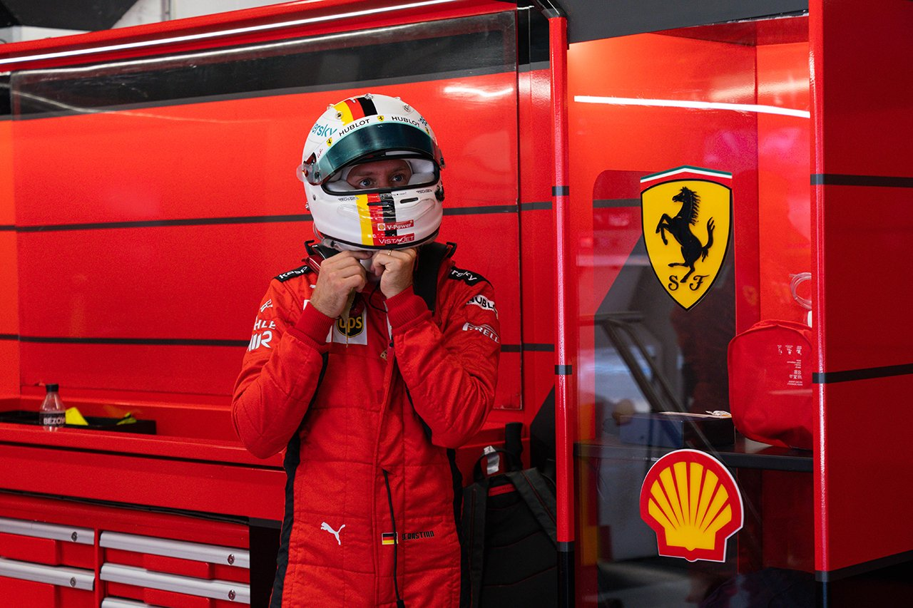 セバスチャン・ベッテル、突然の1ストップへの変更に『もっと早く言えよ!』  / フェラーリ F1スペインGP 決勝