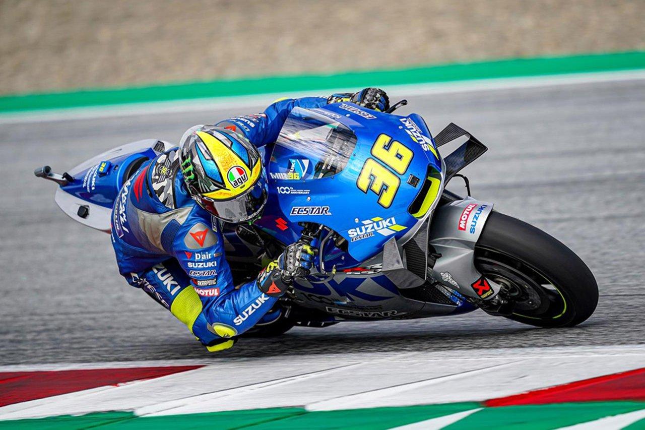 MotoGP:スズキ 第6戦 スティリアGP 決勝レポート