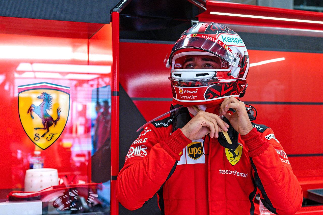 シャルル・ルクレール 「こんな後方にいるフェラーリを見るのは悲しい」 / F1ベルギーGP 金曜フリー走行