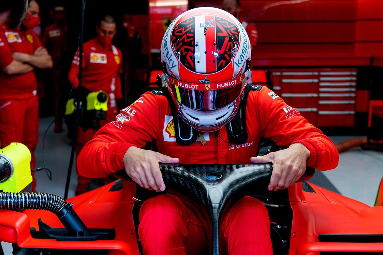 シャルル・ルクレール 「13番手と14番手は今の僕たちにできる精一杯」 / フェラーリ F1ベルギーGP 予選