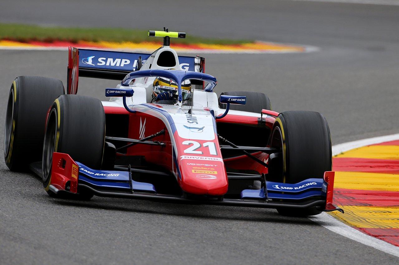 FIA-F2 ベルギー大会 レース2:シュワルツマンが優勝、角田裕毅は9位
