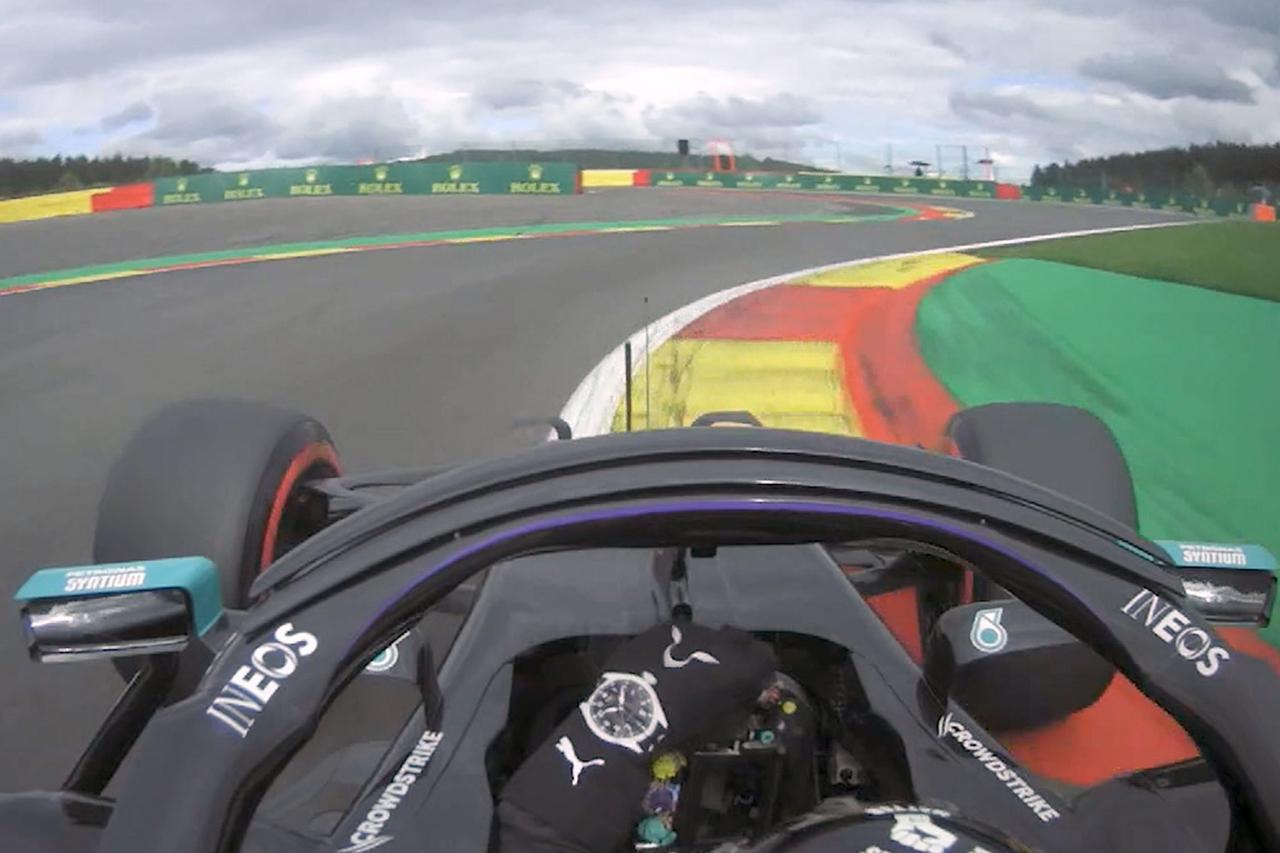 【動画】 ルイス・ハミルトン、コースレコード更新の圧巻のポールラップ / F1ベルギーGP 予選