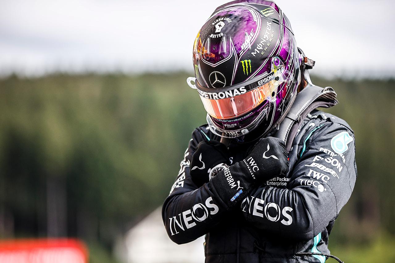 ルイス・ハミルトン、チャドウィック・ボーズマンに捧げるポール / メルセデス F1ベルギーGP 予選