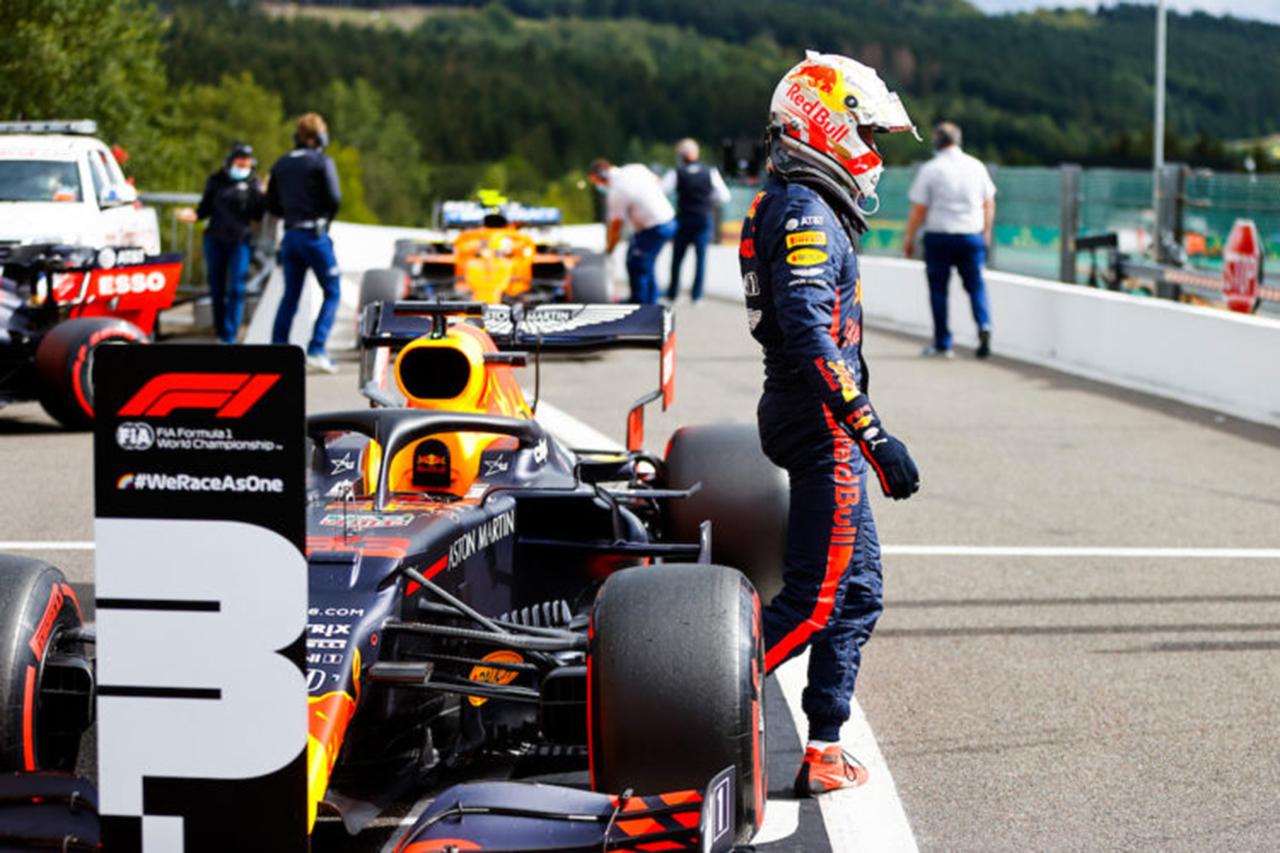 Photo of マックスフェルースタトペᆫ予選で「配布なし」を説明/レッドブルホンダF1ベルギーのGP予選[F1-Gate.com]
