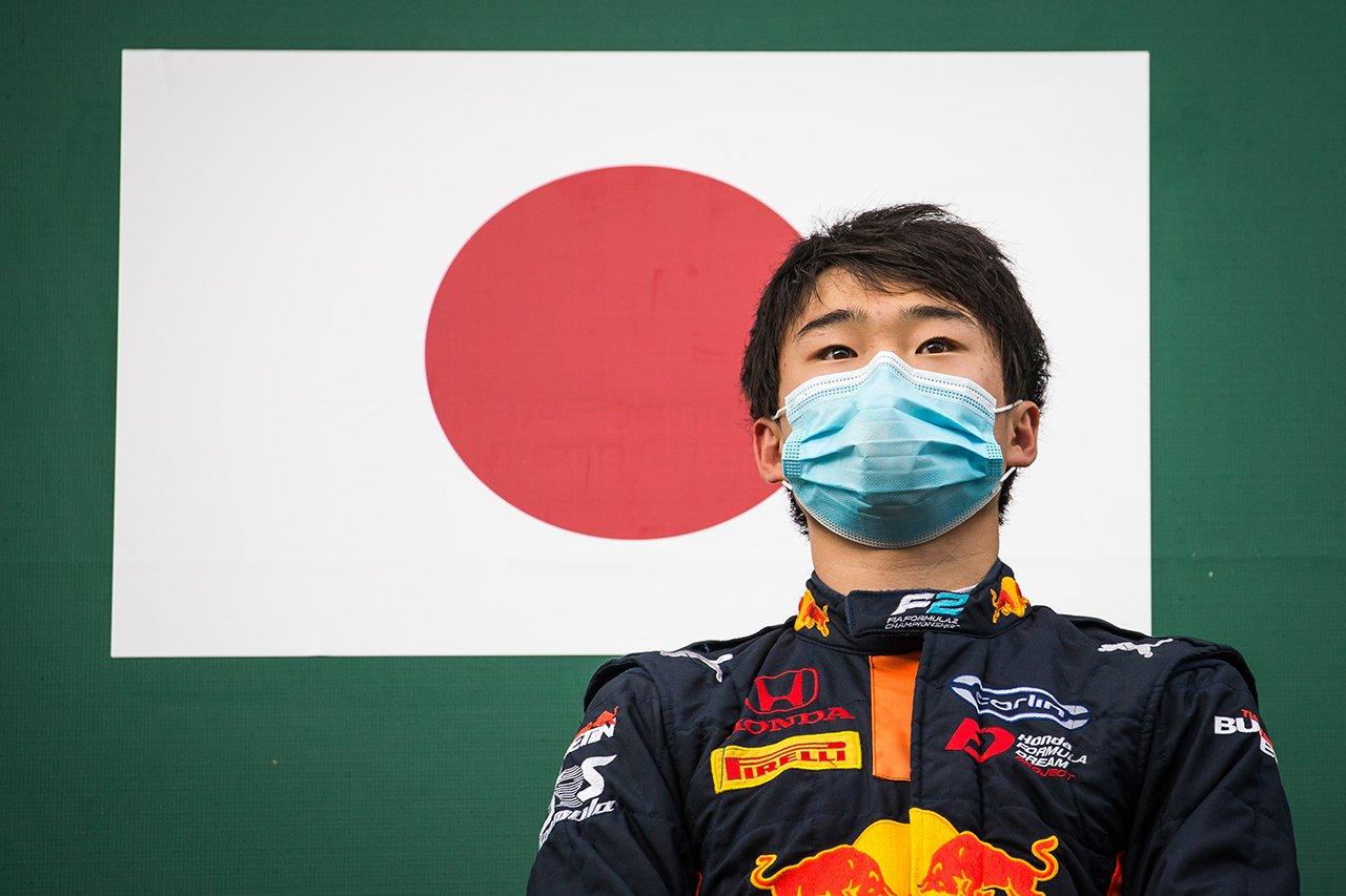 角田裕毅、F1に近づくランキング3位浮上 「プレッシャーは感じていない」