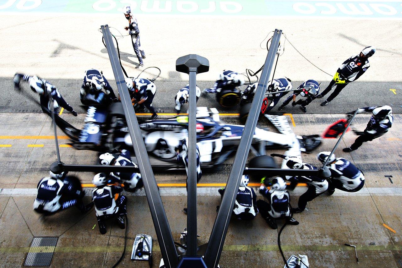 アルファタウリ・ホンダF1 「ローダウンフォースパッケージを最適化できた」 / F1ベルギーGP 決勝