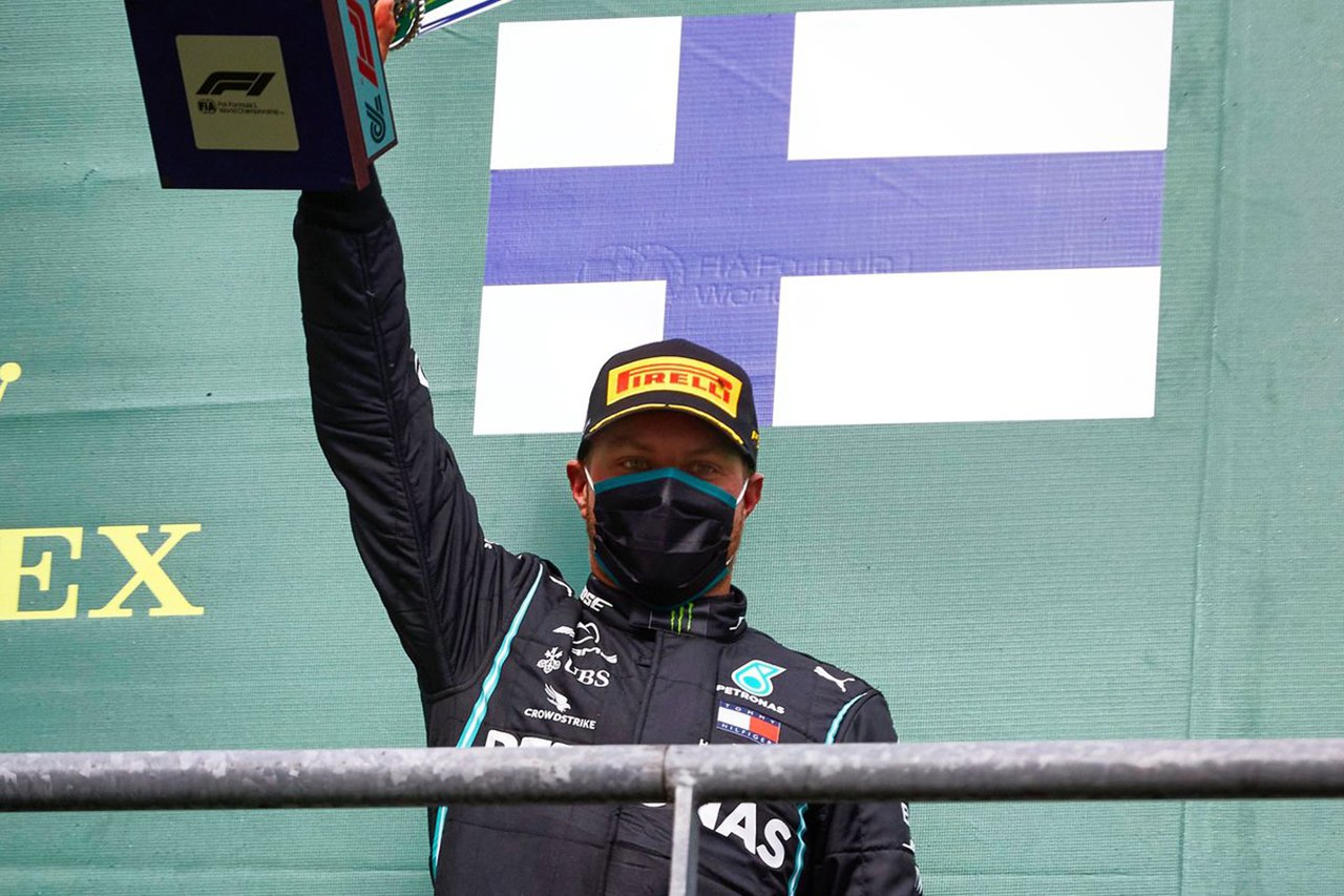 バルテリ・ボッタス、憧れのミカ・ハッキネンの表彰台獲得数に並ぶ / メルセデス F1ベルギーGP 決勝