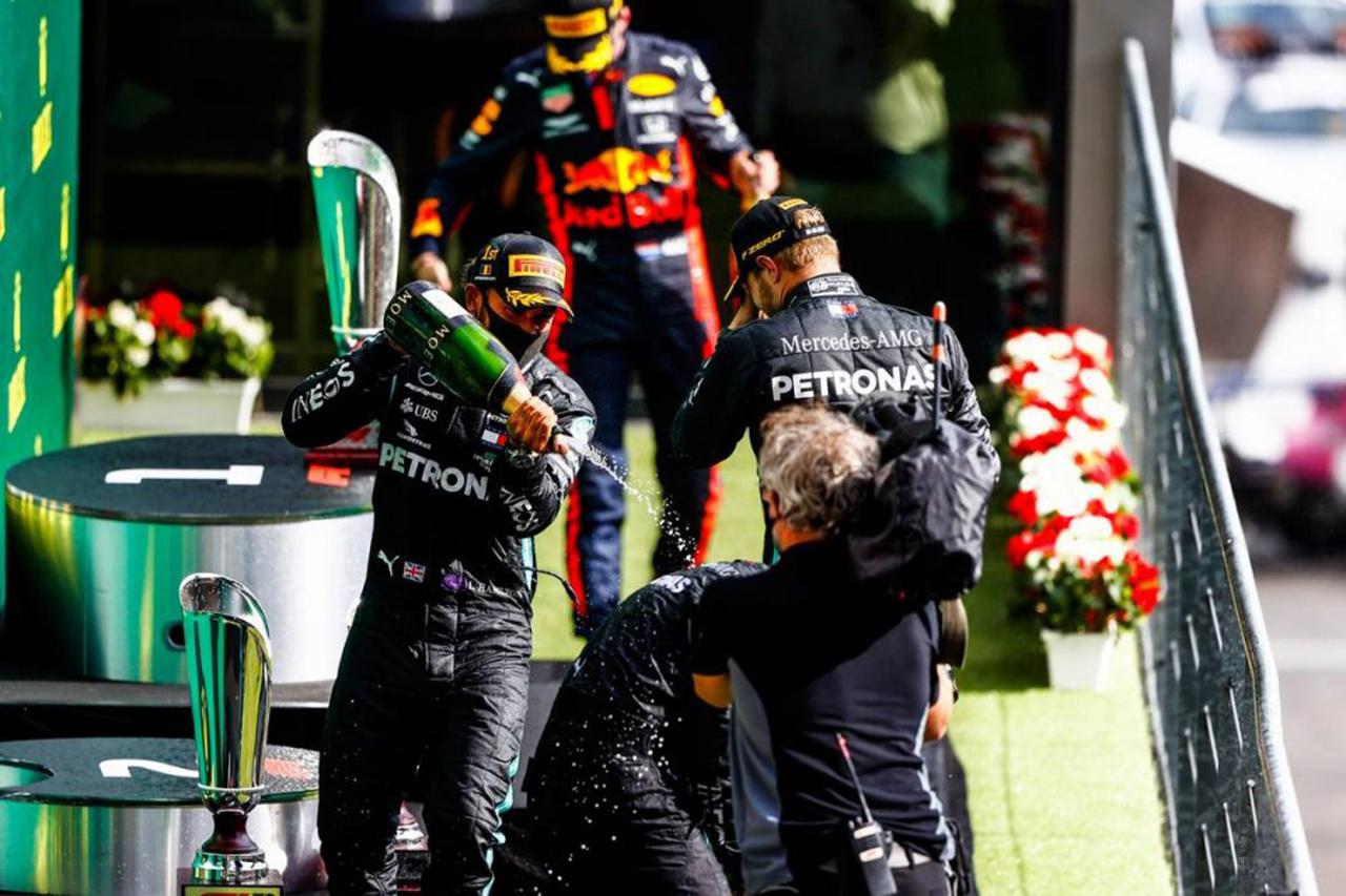 F1ベルギーGP 決勝:トップ10 ドライバーコメント