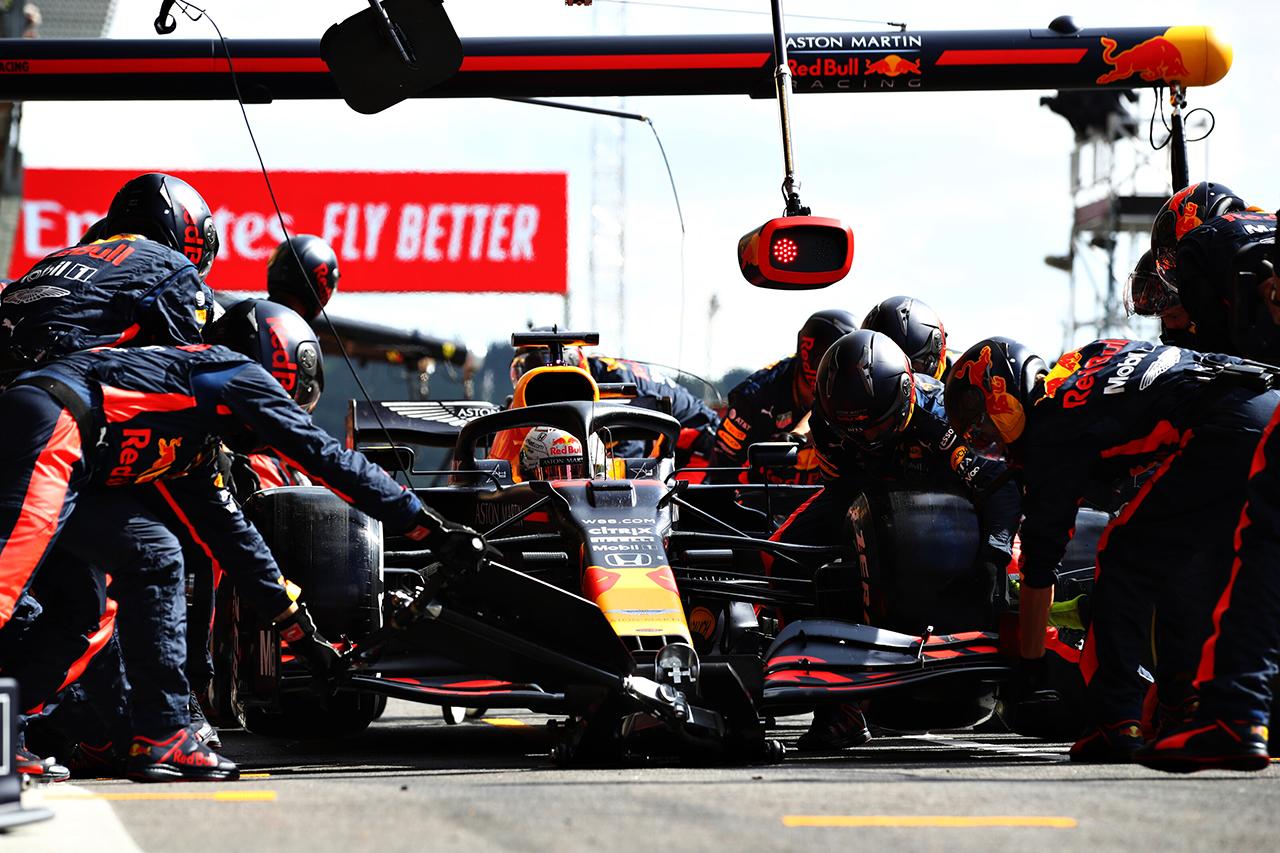 """レッドブル・ホンダF1 決勝分析:ルノーから3位を""""守った""""レース / F1ベルギーGP"""