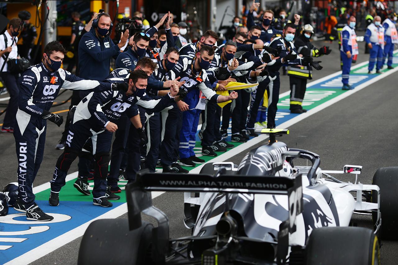 アルファタウリF1 「セーフティカーがなければガスリーはもっと上位だった」 / F1ベルギーGP 決勝