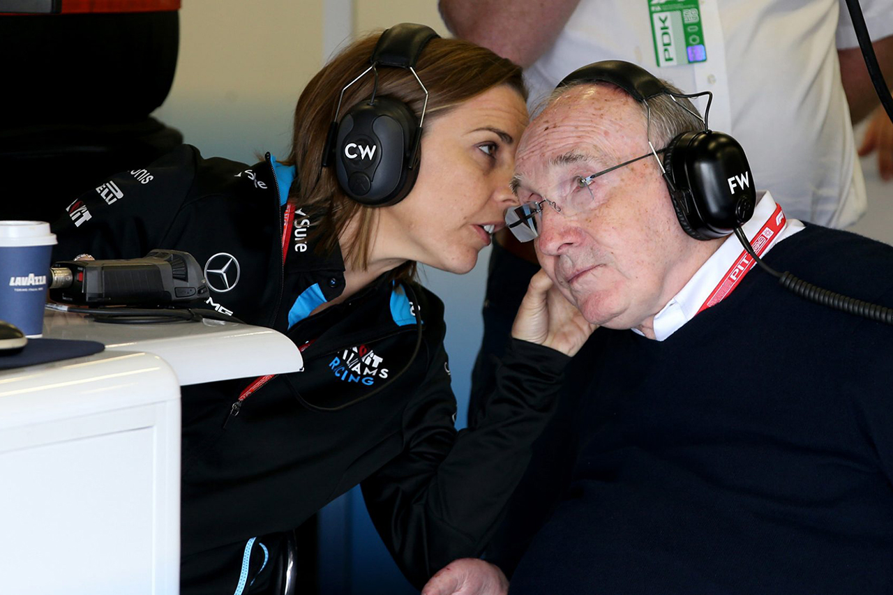 Photo of ウィリアムズF1クレア・ウィリアムズの退任を発表…家族が終焉[F1-Gate.com]
