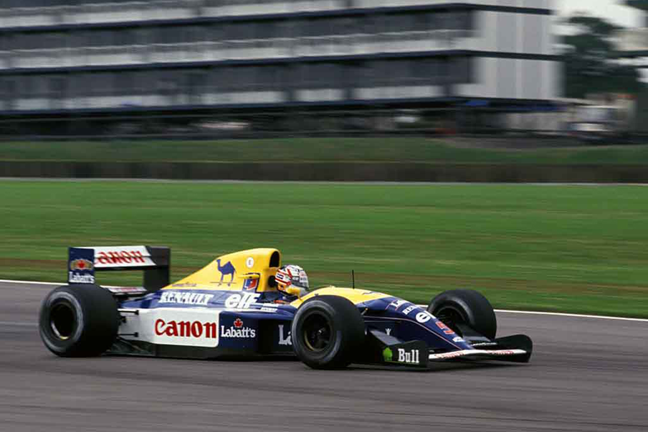 F1:ベッテル、マンセルの王座獲得マシン『ウィリアムズFW14B』を購入