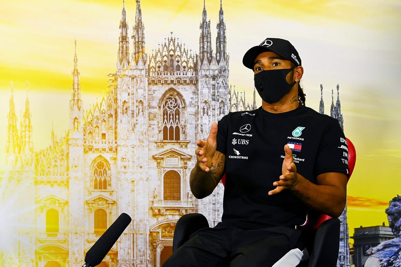ルイス・ハミルトン、予選モードの禁止に恨み節 「自分で管理したい」  / メルセデス F1イタリアGP 記者会見