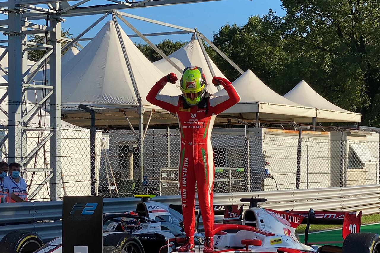 FIA-F2 イタリア大会 レース1:角田裕毅は4位でランキング4位に後退
