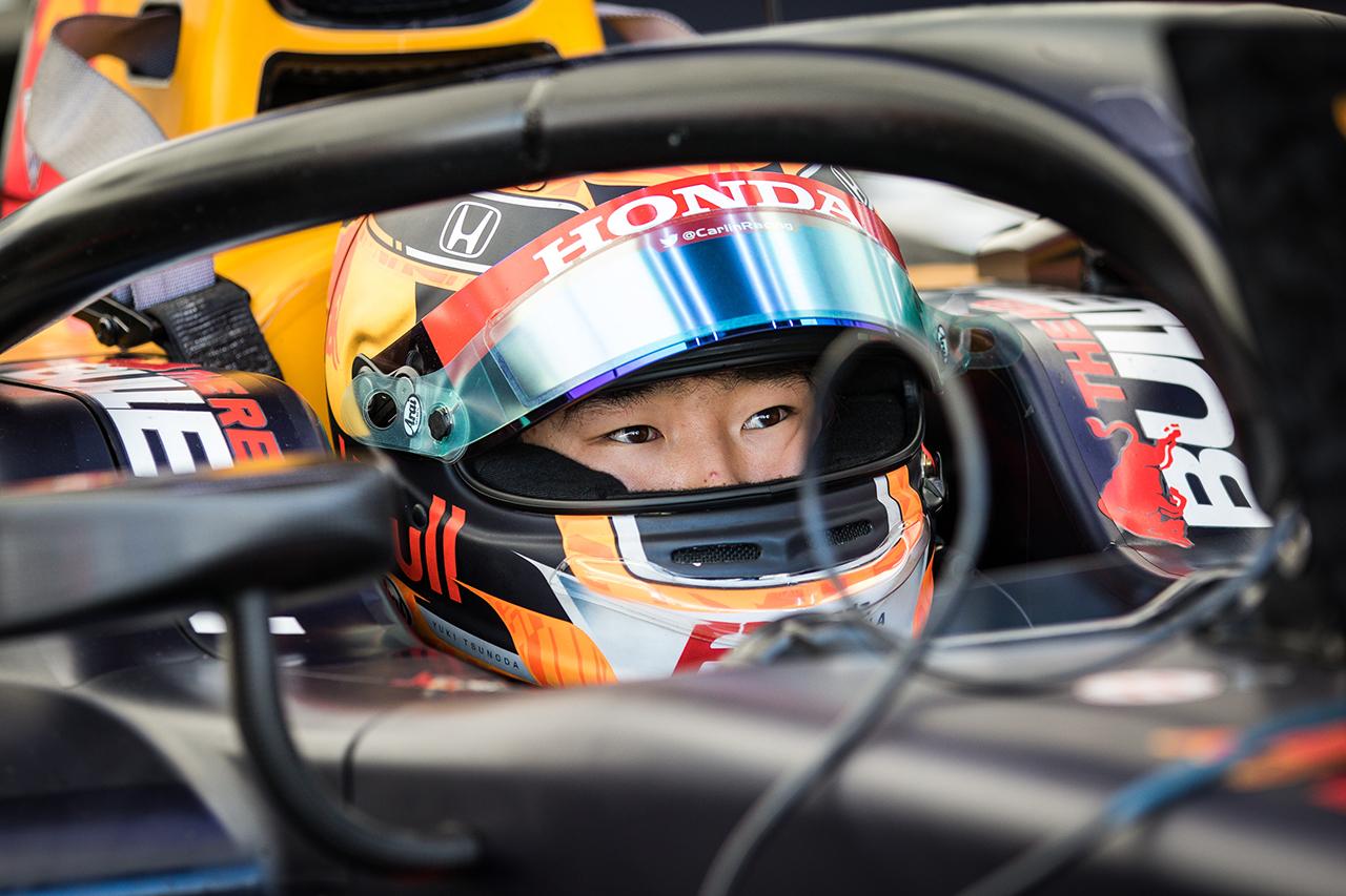 角田裕毅 「順位を取り戻そうとミスをしてしまったのが今回の反省点」 / FIA-F2イタリア レース1