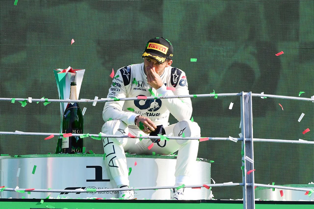 ピエール・ガスリー アルファタウリ・ホンダF1 2020年 F1イタリアGP 優勝