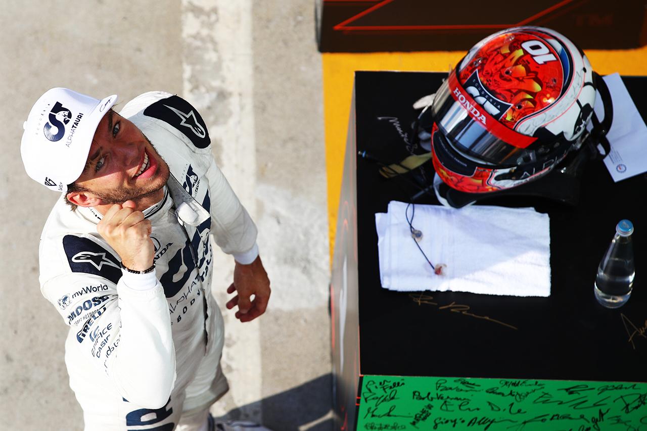 ピエール・ガスリー、勝利の女神が微笑んだ大波乱のF1初優勝 / 2020年 F1イタリアGP