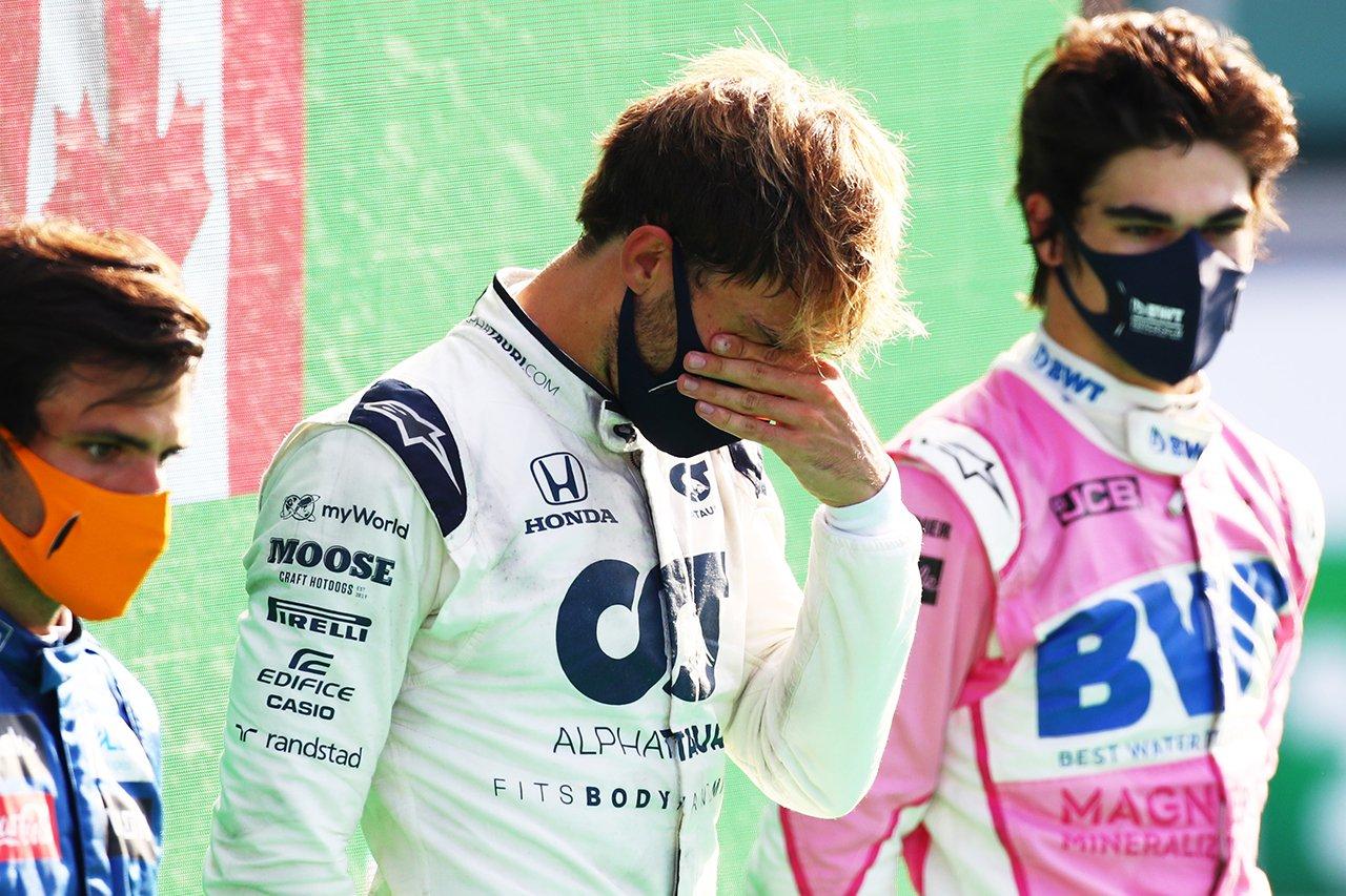 ホンダF1 本橋正充 「ガスリーとはここまでずっと苦楽を共にしてきた」 F1イタリアGPでの初優勝に感無量