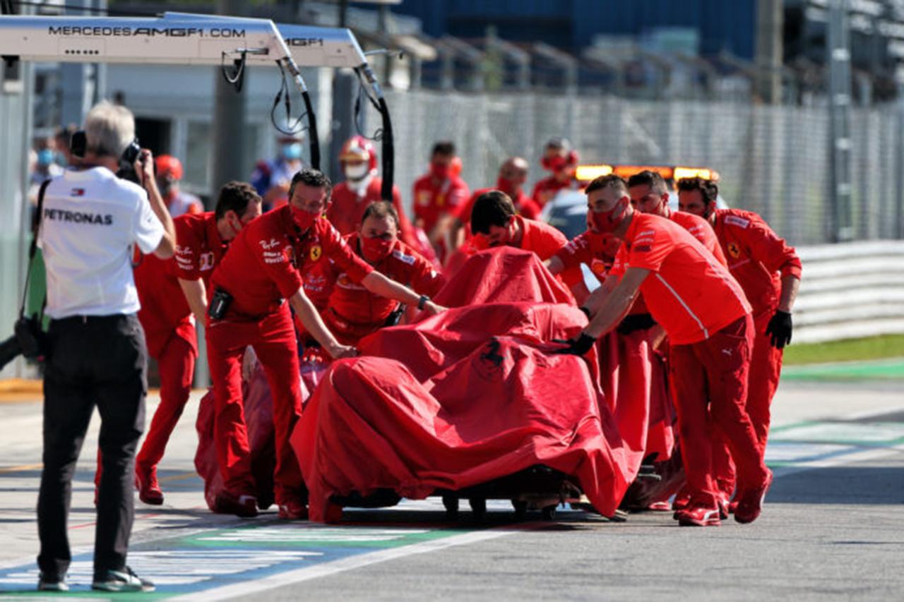 シャルル・ルクレール 「クラッシュは完全に僕のミス」 / フェラーリ F1イタリアGP 決勝