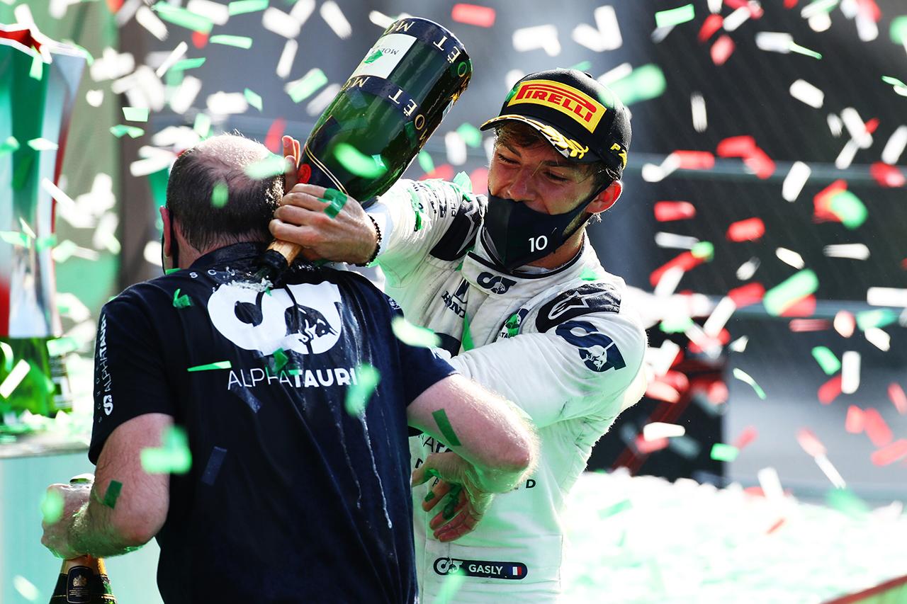 ピエール・ガスリー 「F1で成功するためにすべてを捧げて戦ってきた」 / アルファタウリ・ホンダ F1イタリアGP 決勝
