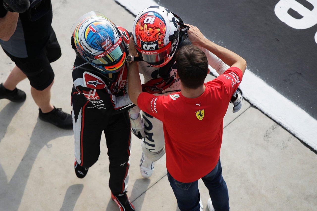 ピエール・ガスリーのF1初優勝をライバルたちも祝福