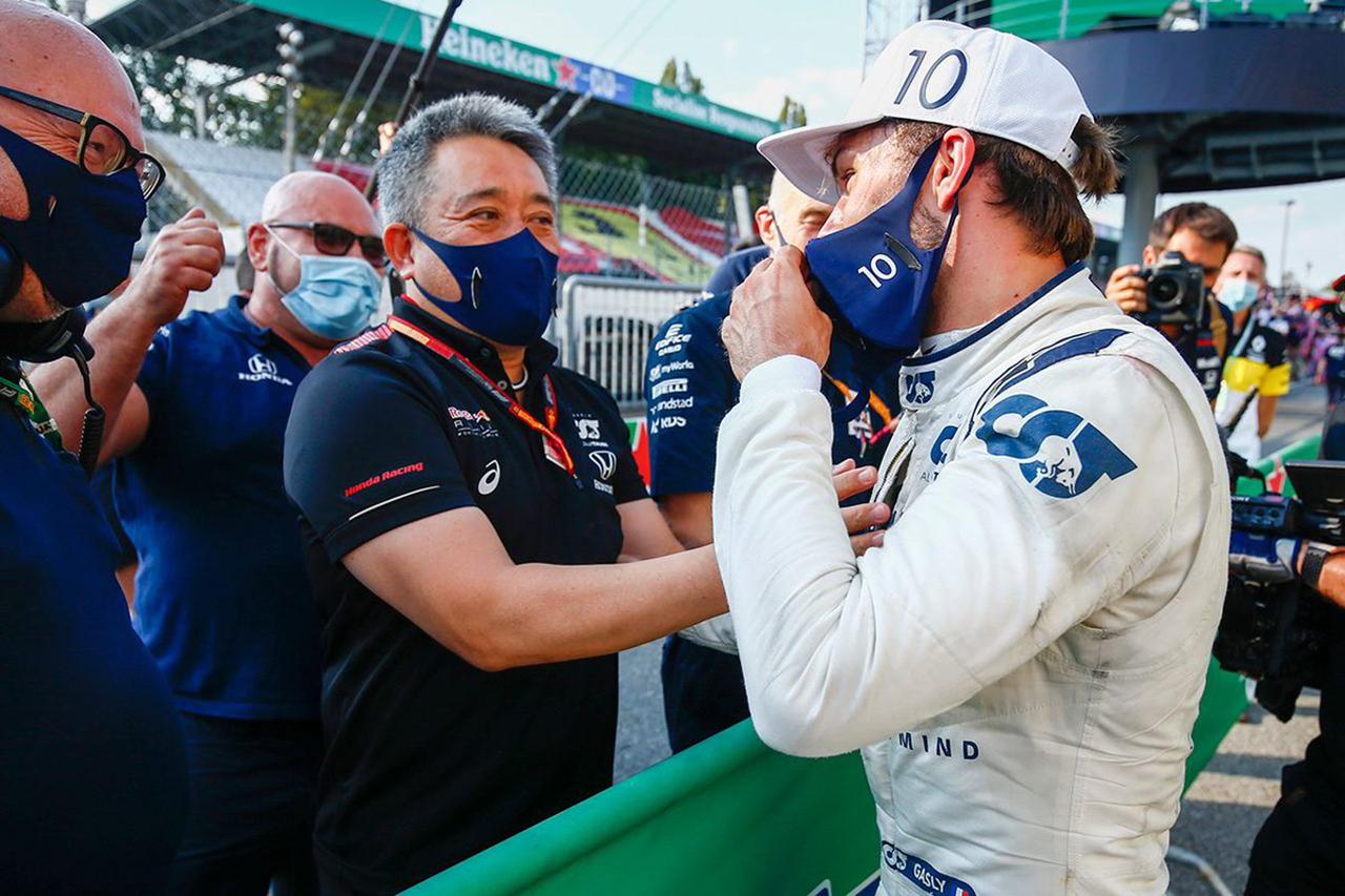 ホンダF1 山本雅史MD 「ガスリーの優勝は日本で戦うドライバーにも励み」