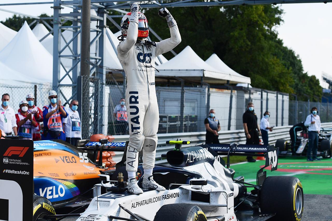 ピエール・ガスリー、F1初勝利で証明「レッドブルに戻る準備はできている」