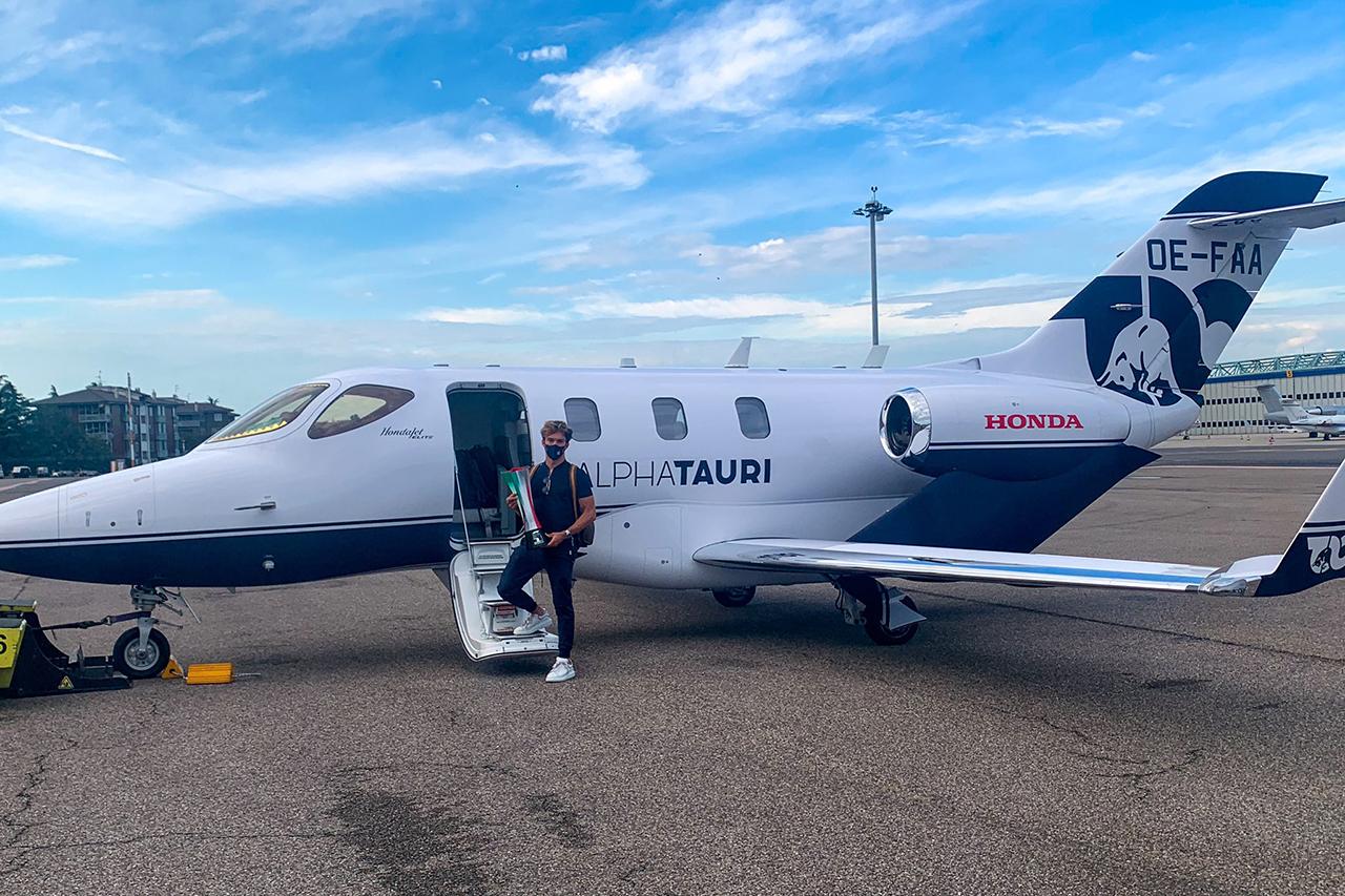 ホンダ、アルファタウリ・ホンダF1にHonda Jet Eliteをデリバリー