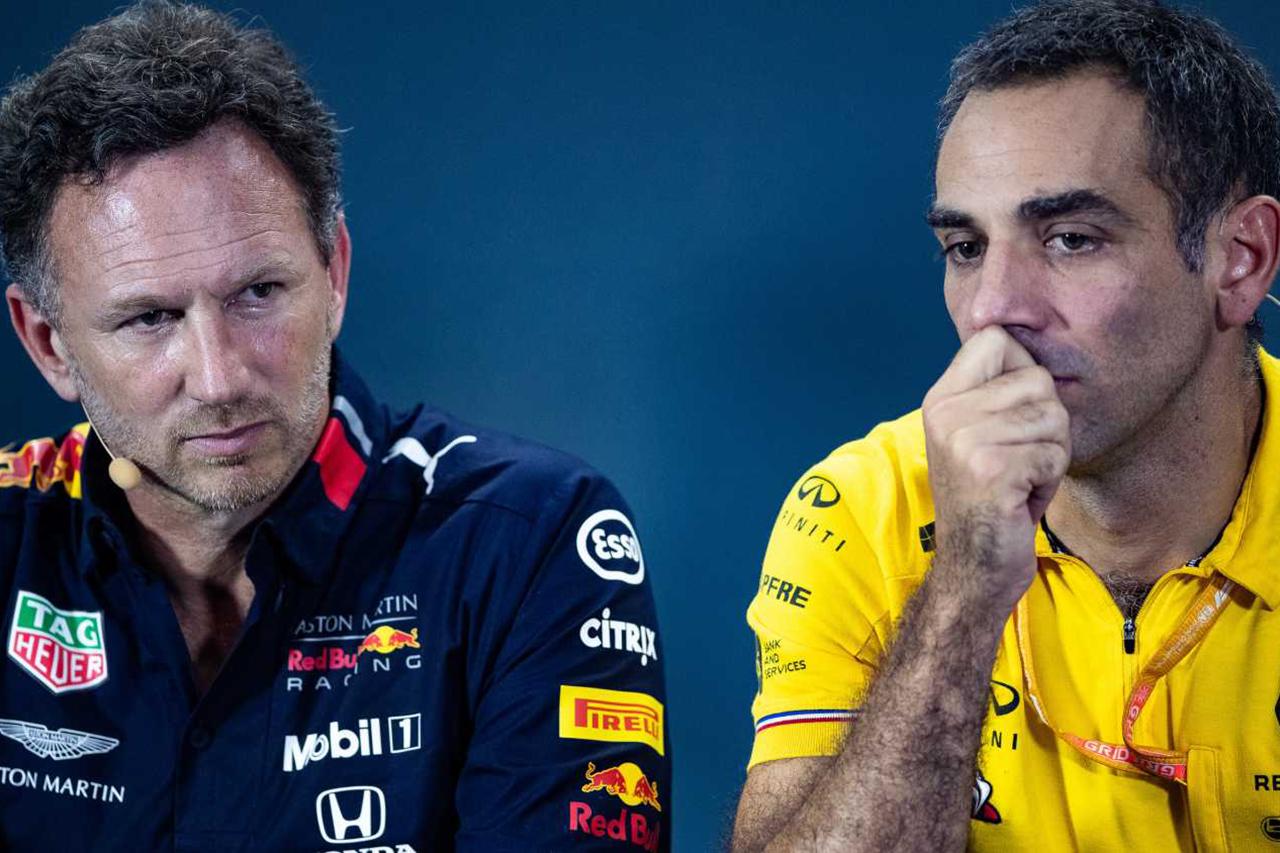 """Photo of ルノーF1 """"ホンダがF1から撤退した場合に牛と再びパートナーが疑問""""[F1-Gate.com]"""