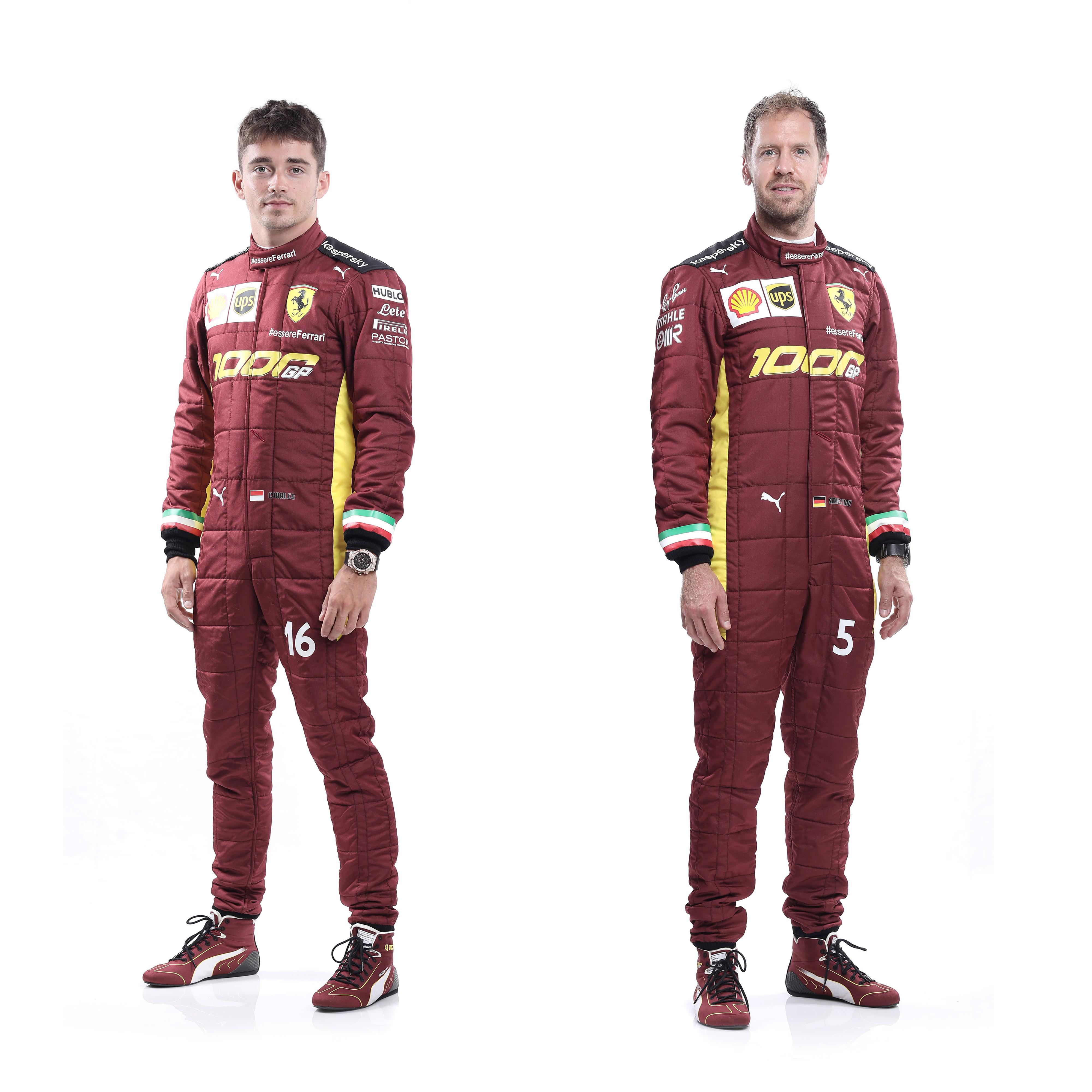 フェラーリF1 1000回目のグランプリ 特別レーシングスーツ