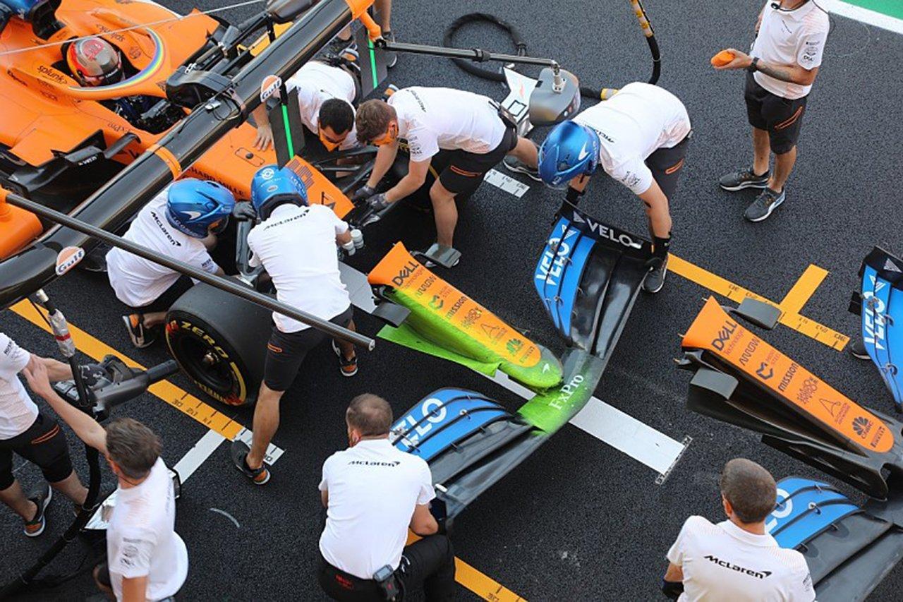 マクラーレンF1、メルセデス型のノーズをテスト / F1トスカーナGP