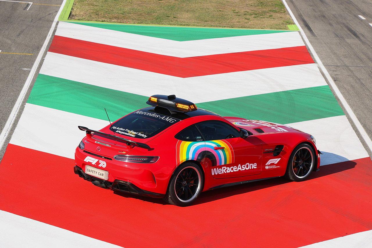 2020年のF1世界選手権 第9戦 F1トスカーナGP セーフティカー