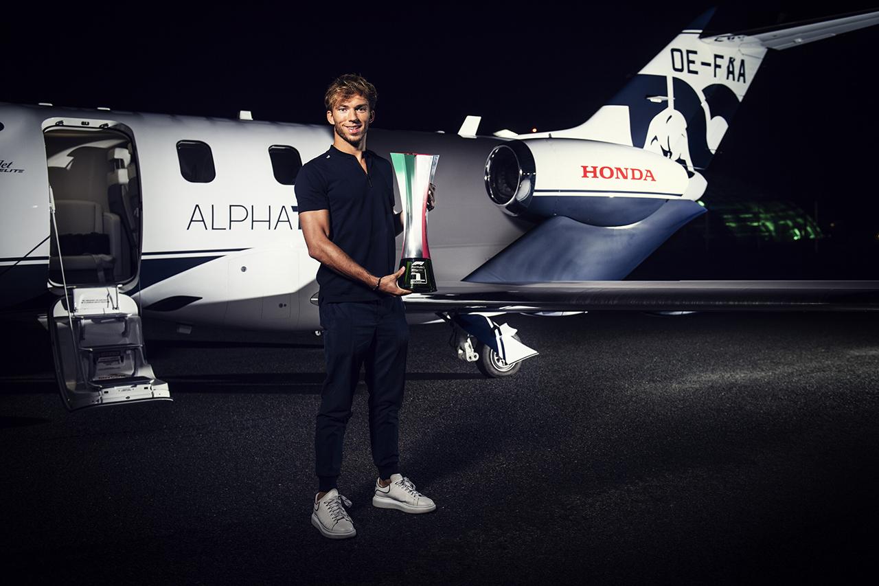 Photo of ピエールオクラホマ「アルファ乗ったちホンダF1は最高のチーム」/ F1初優勝インタビュー[F1-Gate.com]
