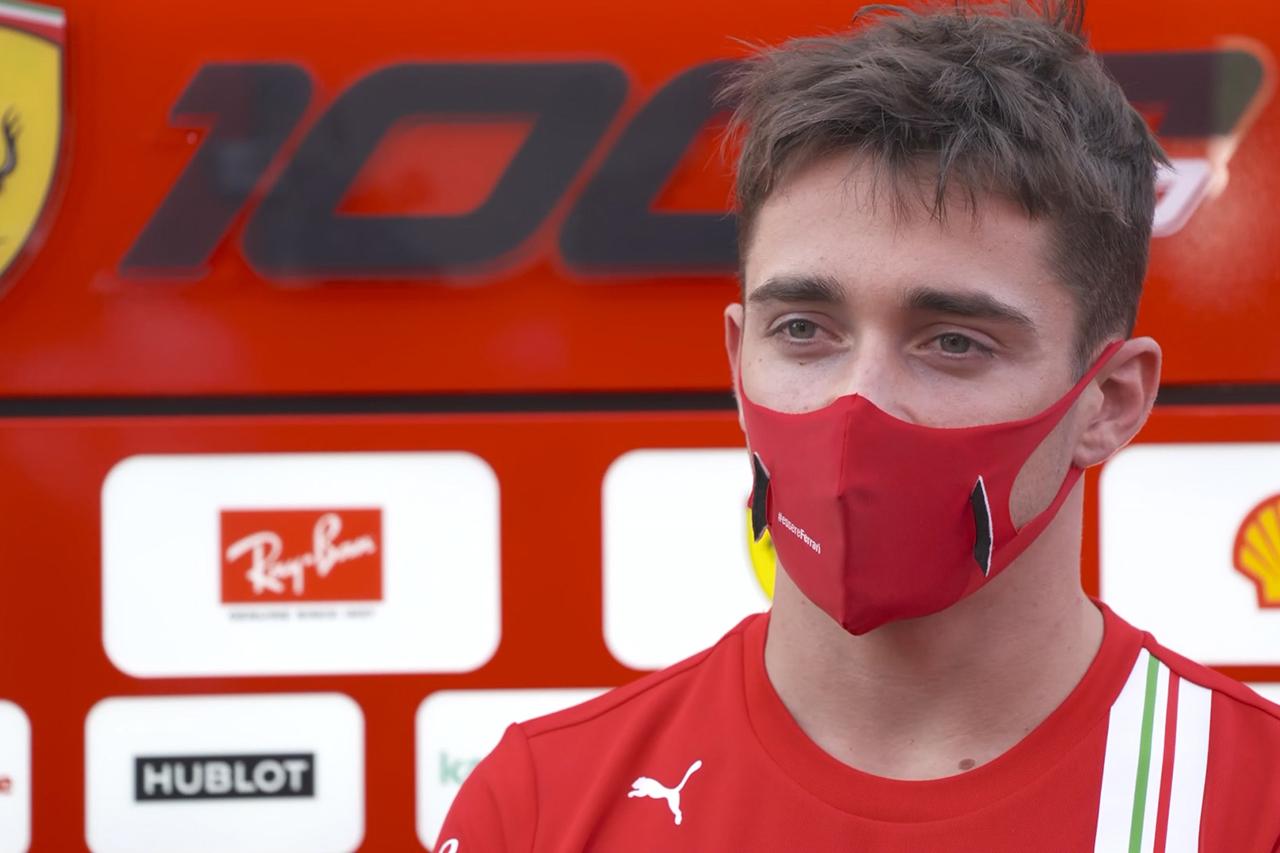 ルクレール 「FP1で速かったのはフィルミングデーの経験があったから」 / フェラーリ F1トスカーナGP 金曜フリー走行