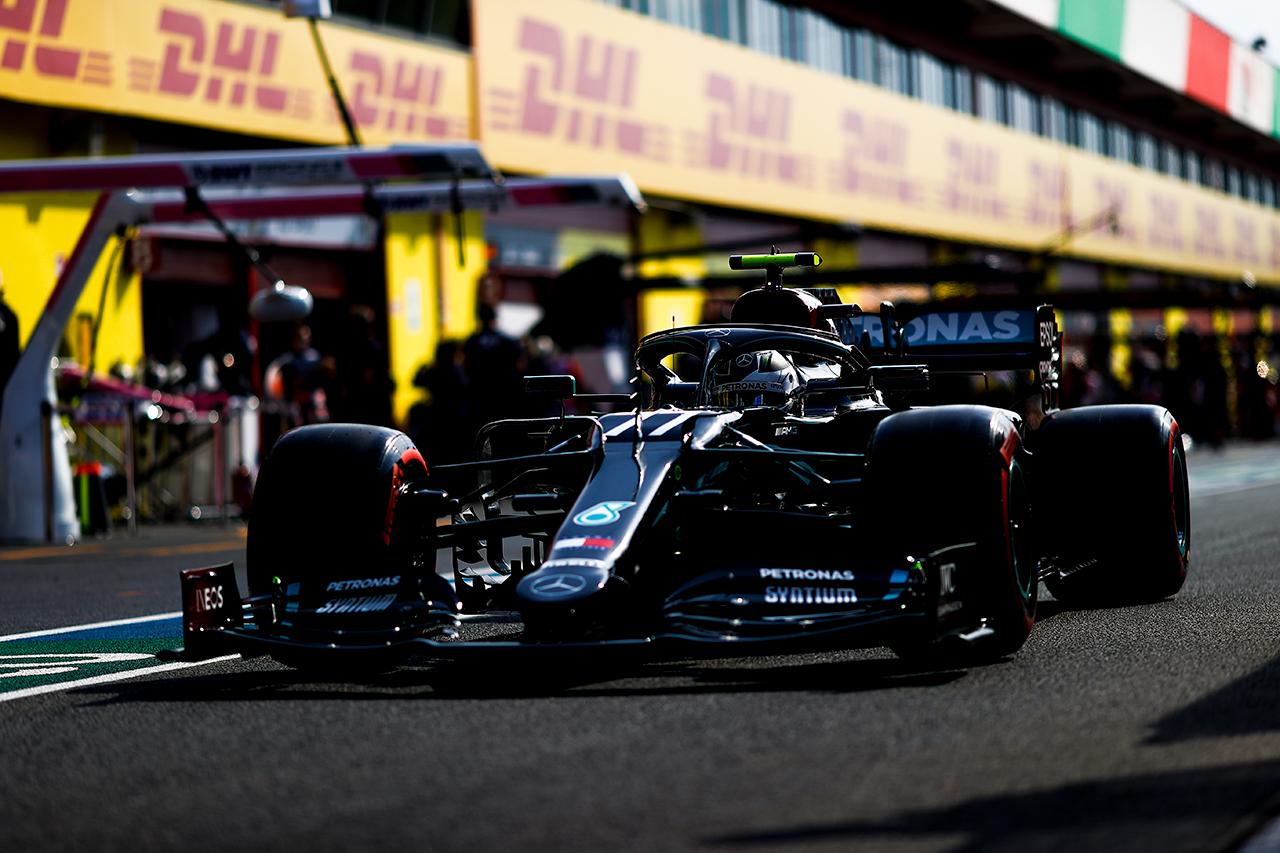F1トスカーナGP フリー走行3回目:ボッタス首位、僅差でフェルスタッペン2番手。ホンダF1勢4台がトップ10入り