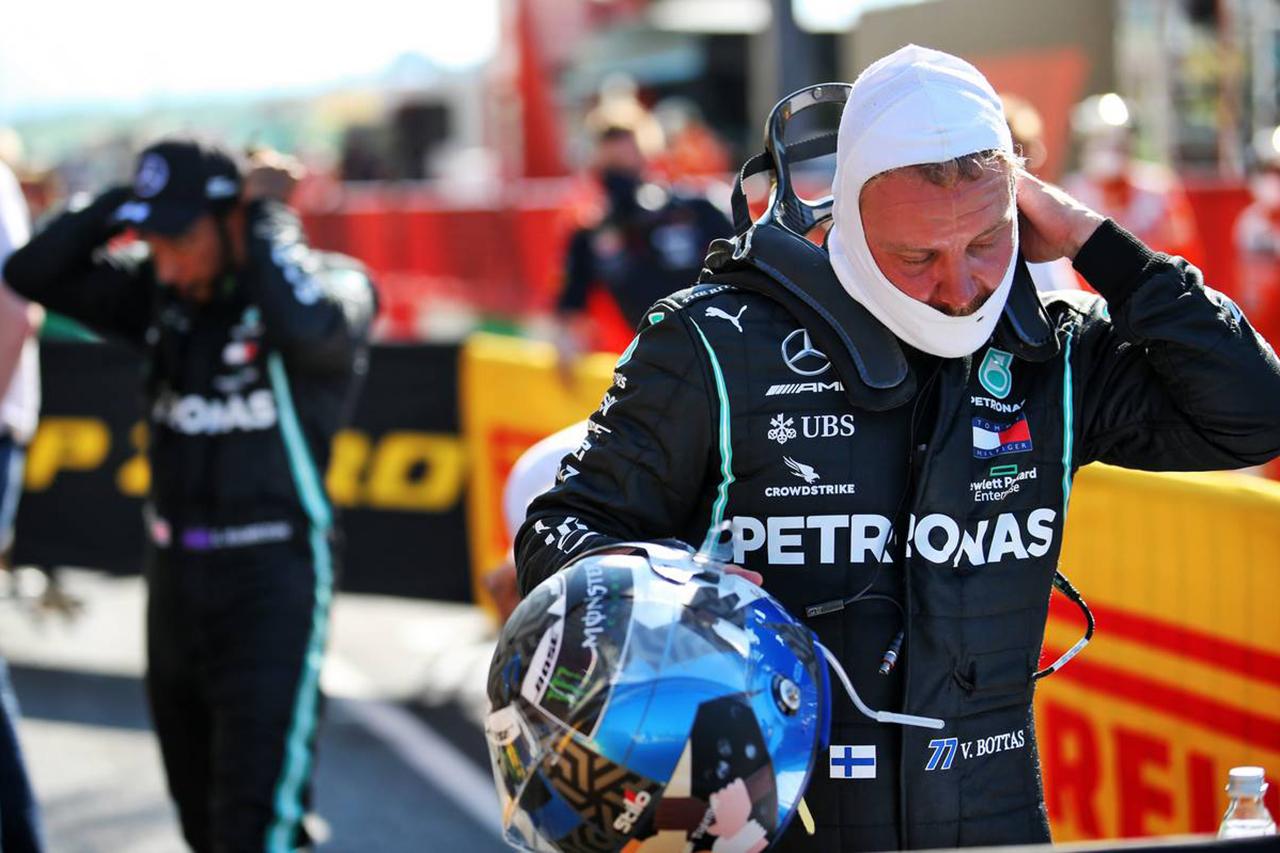 バルテリ・ボッタス、0.059秒差の2番手「黄旗にポールを奪われた」 / メルセデス F1トスカーナGP 予選