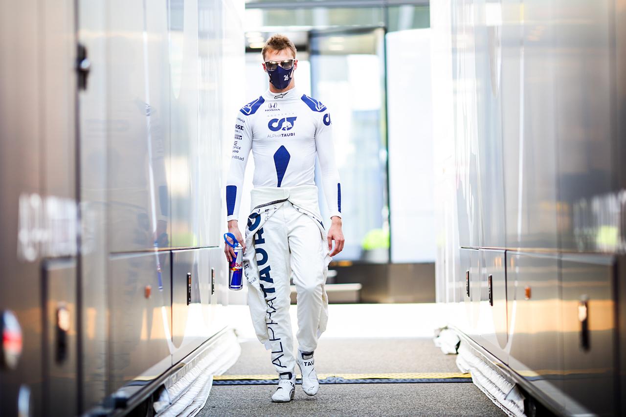 ダニール・クビアト 「12番グリッドからでも十分勝負できる」 / アルファタウリ・ホンダ F1トスカーナGP 予選