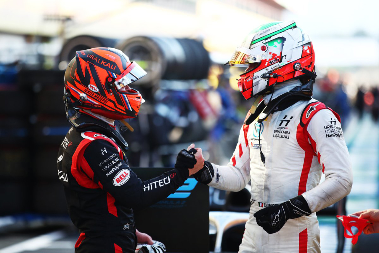 FIA-F2 第9戦 レース1:マゼピンが優勝、角田裕毅はノーポイントでランキング6位に転落