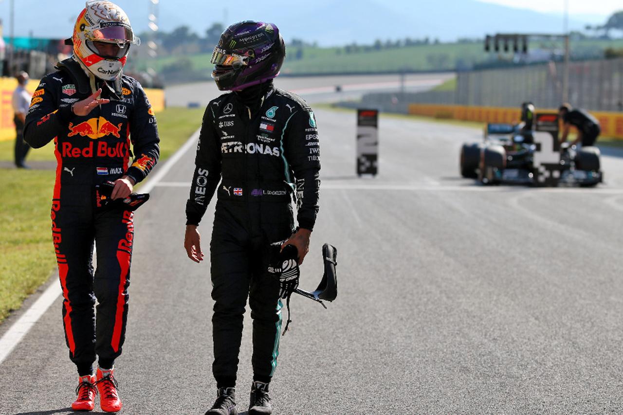 """Photo of マックスフェルースタトペᆫ """"メルセデスとサウルヌン考えていなかった」/レッドブルホンダF1トスカーナGP予選後のコメント[F1-Gate.com]"""