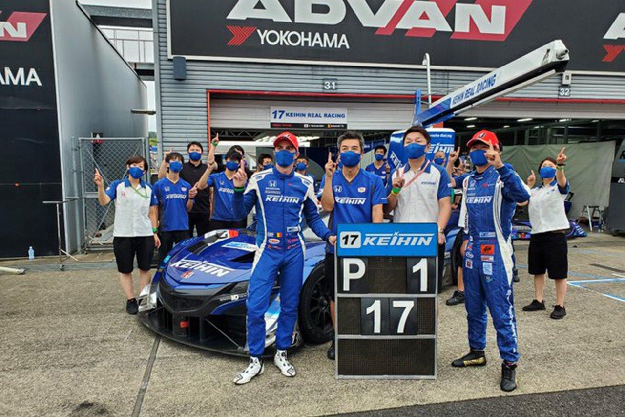 スーパーGT 第4戦 結果:KEIHIN NSX-GTが今季2勝目