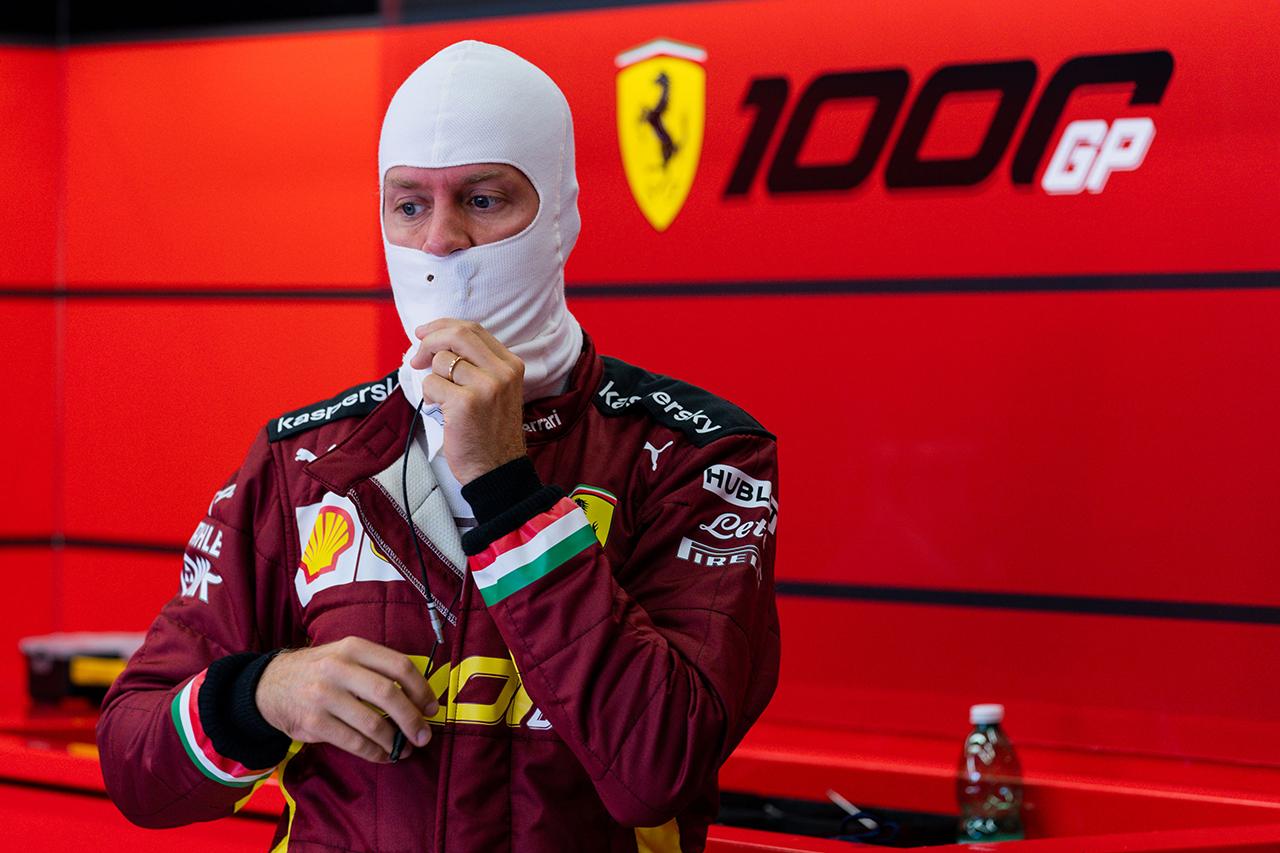 セバスチャン・ベッテル 「マシンのコツを掴むことができていない」  / フェラーリ F1トスカーナGP 予選