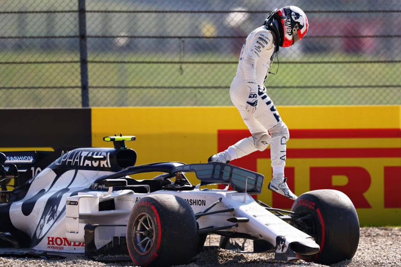 アルファタウリ・ホンダF1 「ガスリーが接触事故に巻き込まれたのは残念」 / F1トスカーナGP 決勝